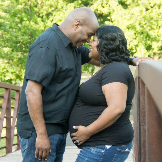 Picture of maternity photo shoot